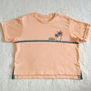 Roxy Blue Bars Sunset🌅 and Palm Trees🌴 Tee